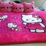Kasur Karpet Karakter Hello Kitty full set