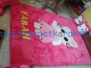 kasur_karpet_karakter_hello_kitty_full_set