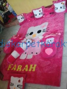 kasur_karpet_karakter_hello_kitty_full_set_2