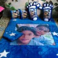 Karpet Photo Bahan Rasfur Harga Murah