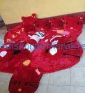 Karpet Karakter Hello Kitty Kepala